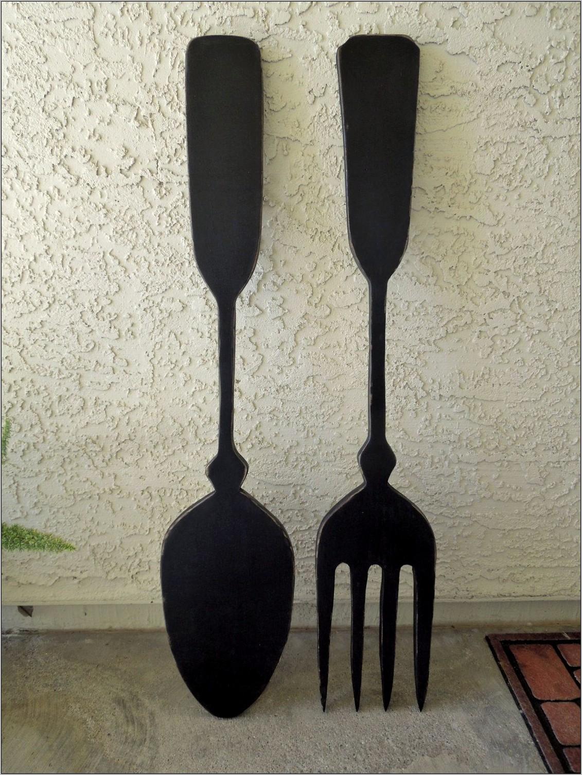 Big Spoon Kitchen Decor