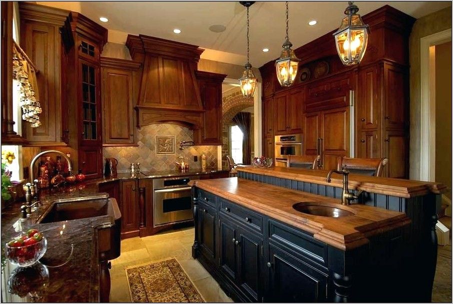 Black And Brown Kitchen Decorating Ideas