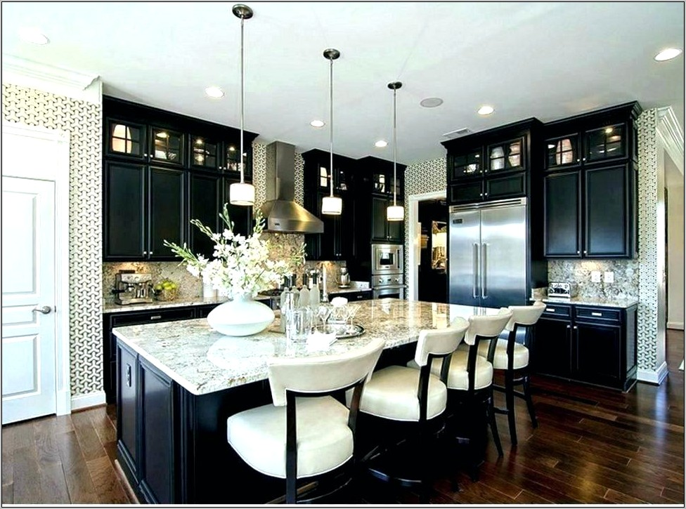 Black And White Kitchener Decor