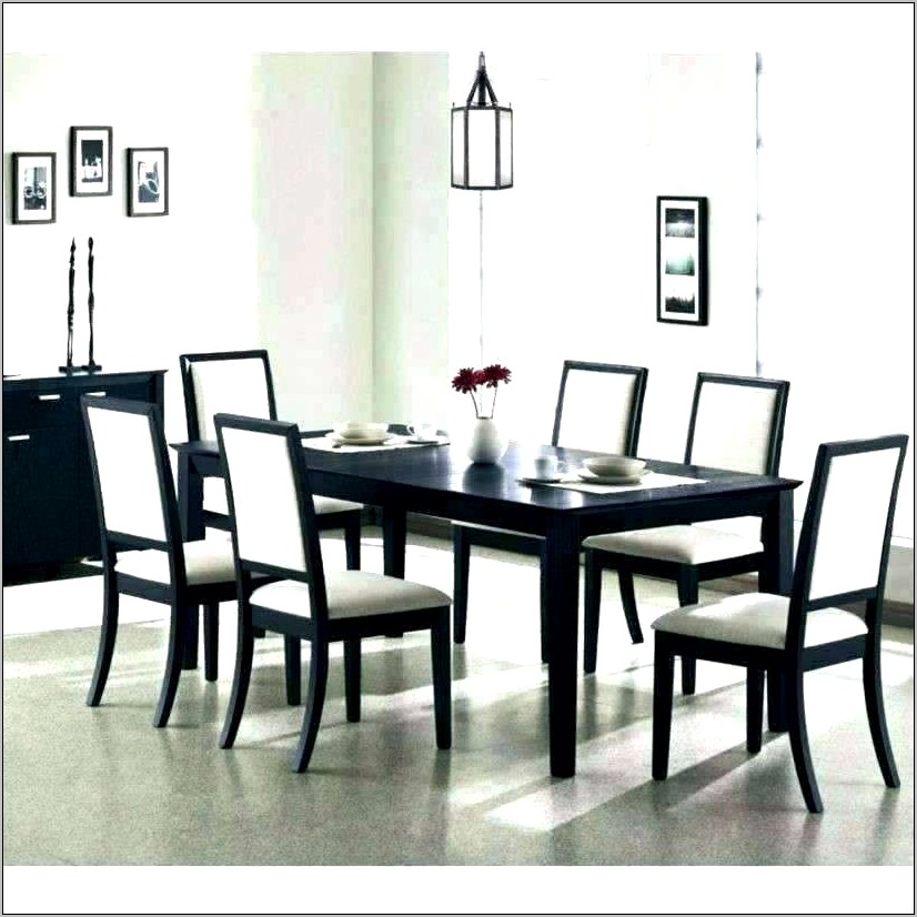 Black Kitchen Table Decorating Ideas