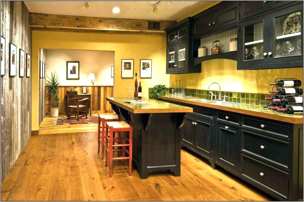Blue And Brown Kitchen Decor