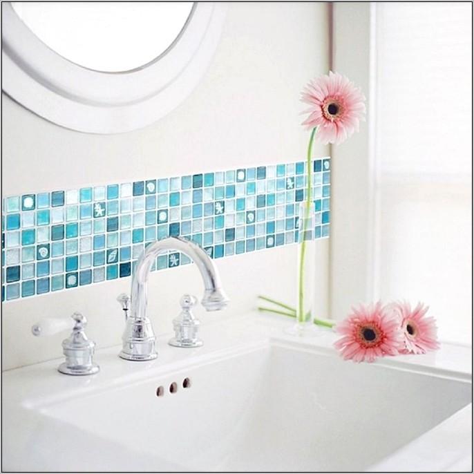 Blue And Tan Kitchen Decor
