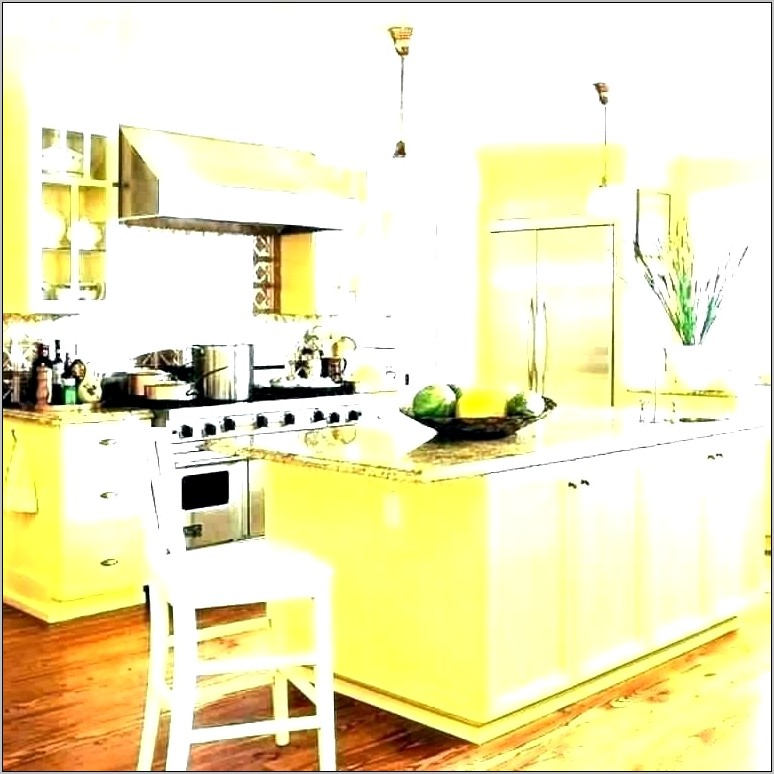 Blue And Yellow Kitchen Decorating Ideas