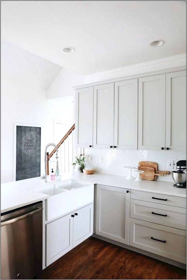 Blue Gray Kitchen Cabinets Decor