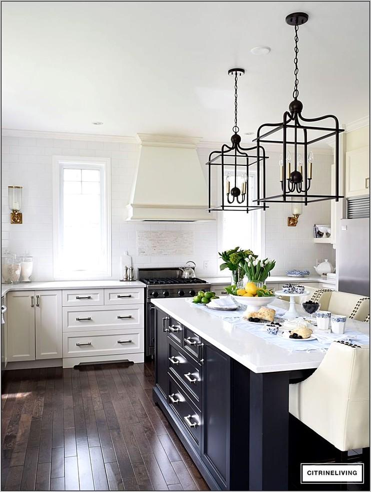 Blue Rustic Kitchen Decor