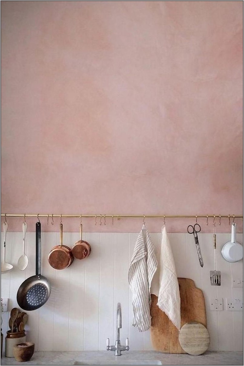 Blush Pink Kitchen Decor