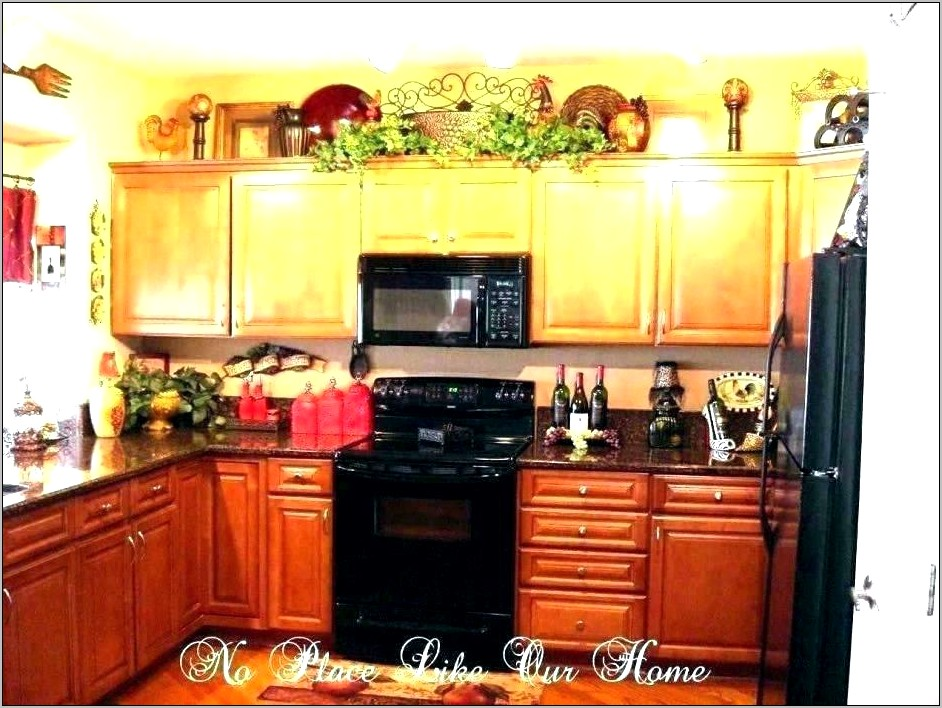 Bright Orange Kitchen Decor