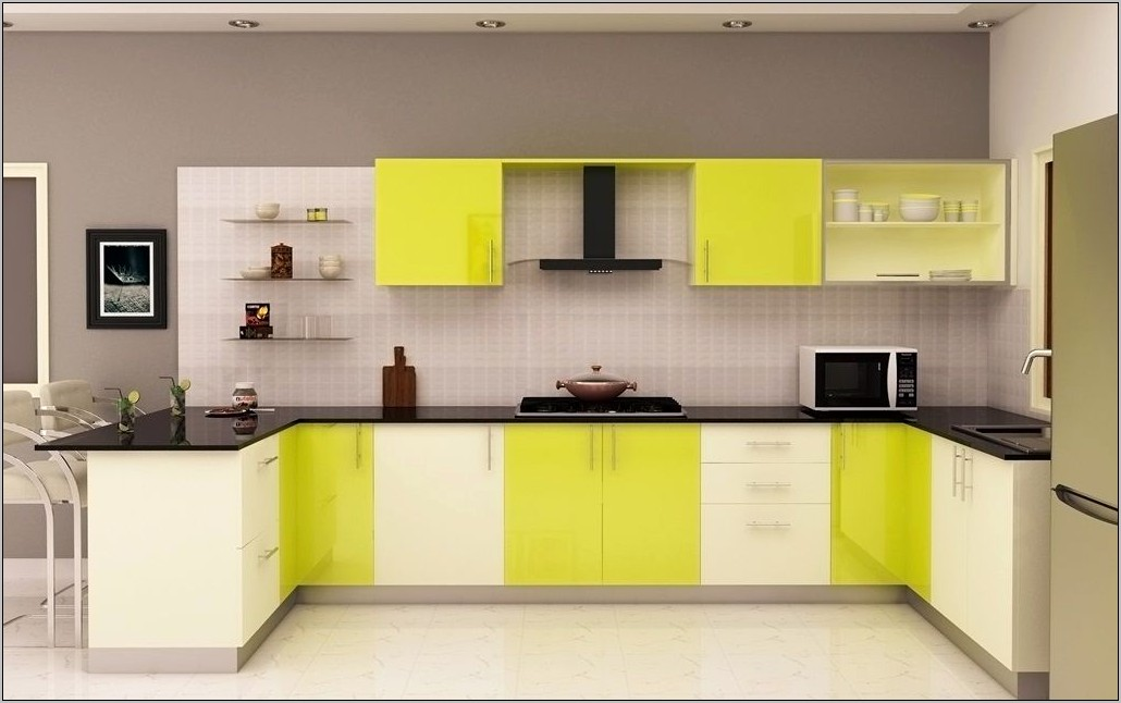 Bright Yellow Kitchen Decor