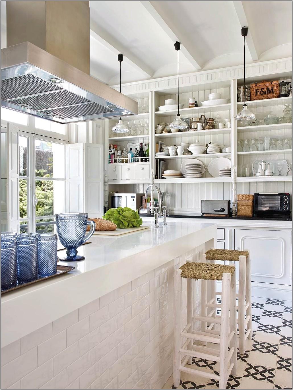 British Colonial Kitchen Decor