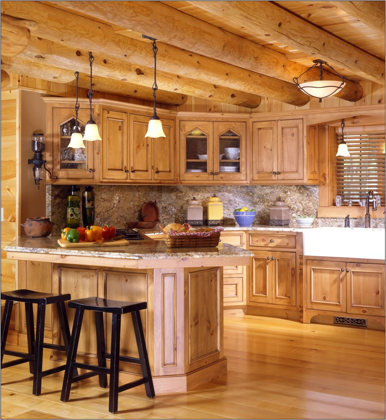 Cabin Decorating Ideas Kitchen