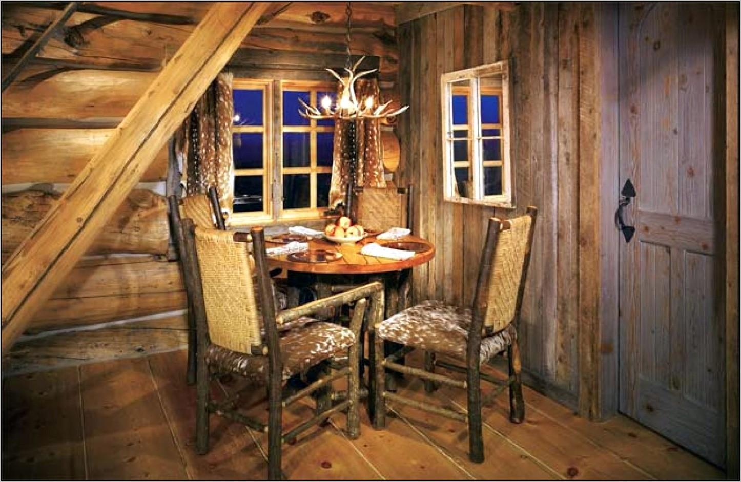Cabin Inspired Kitchen Decor