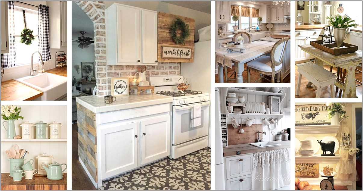 Cabin Inspired Kitchen Towel Decor