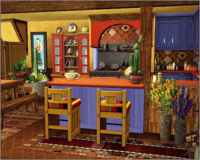 Cantina Style Kitchen Decor