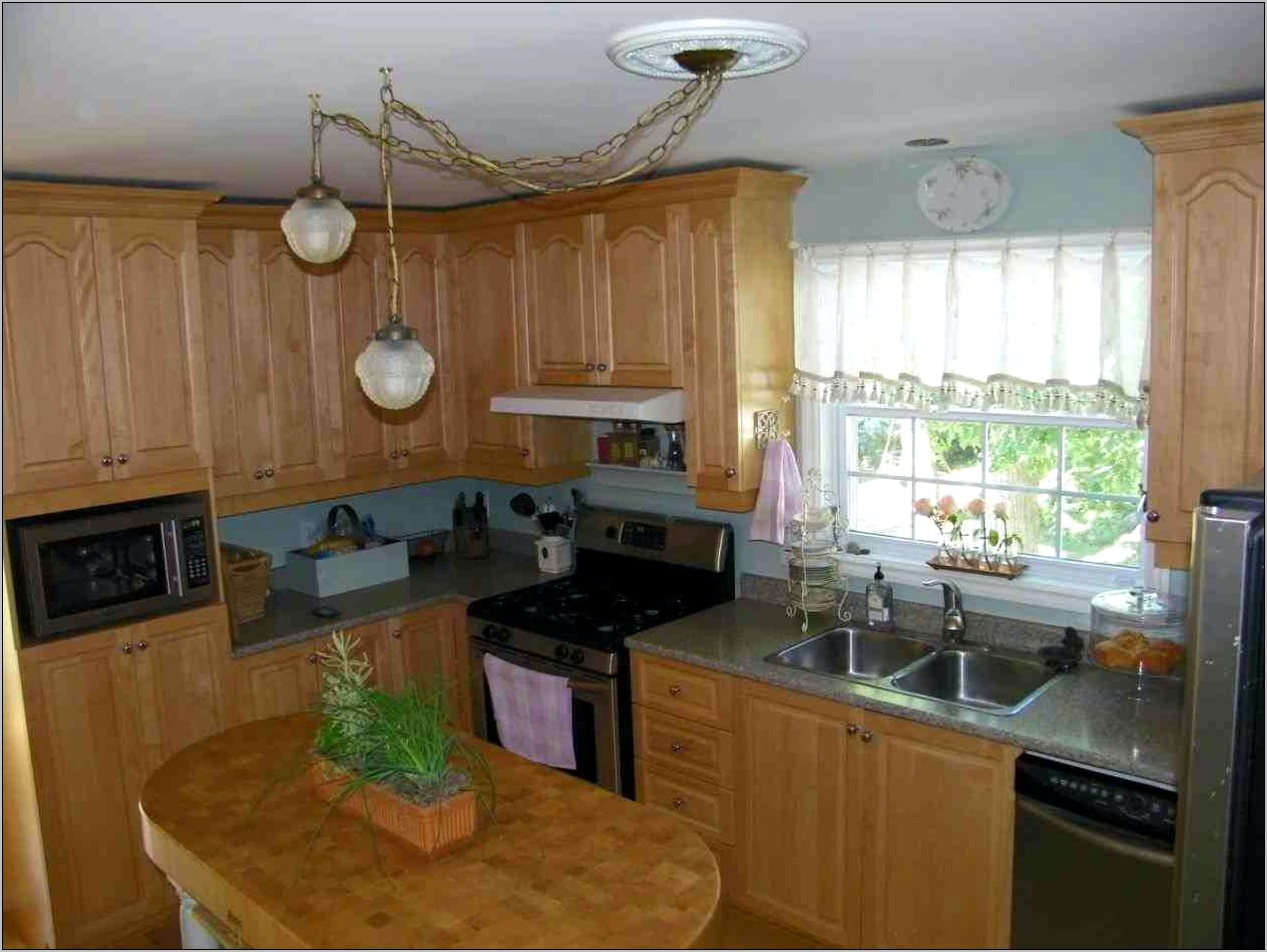 Ceiling Hanging Decor For Kitchen