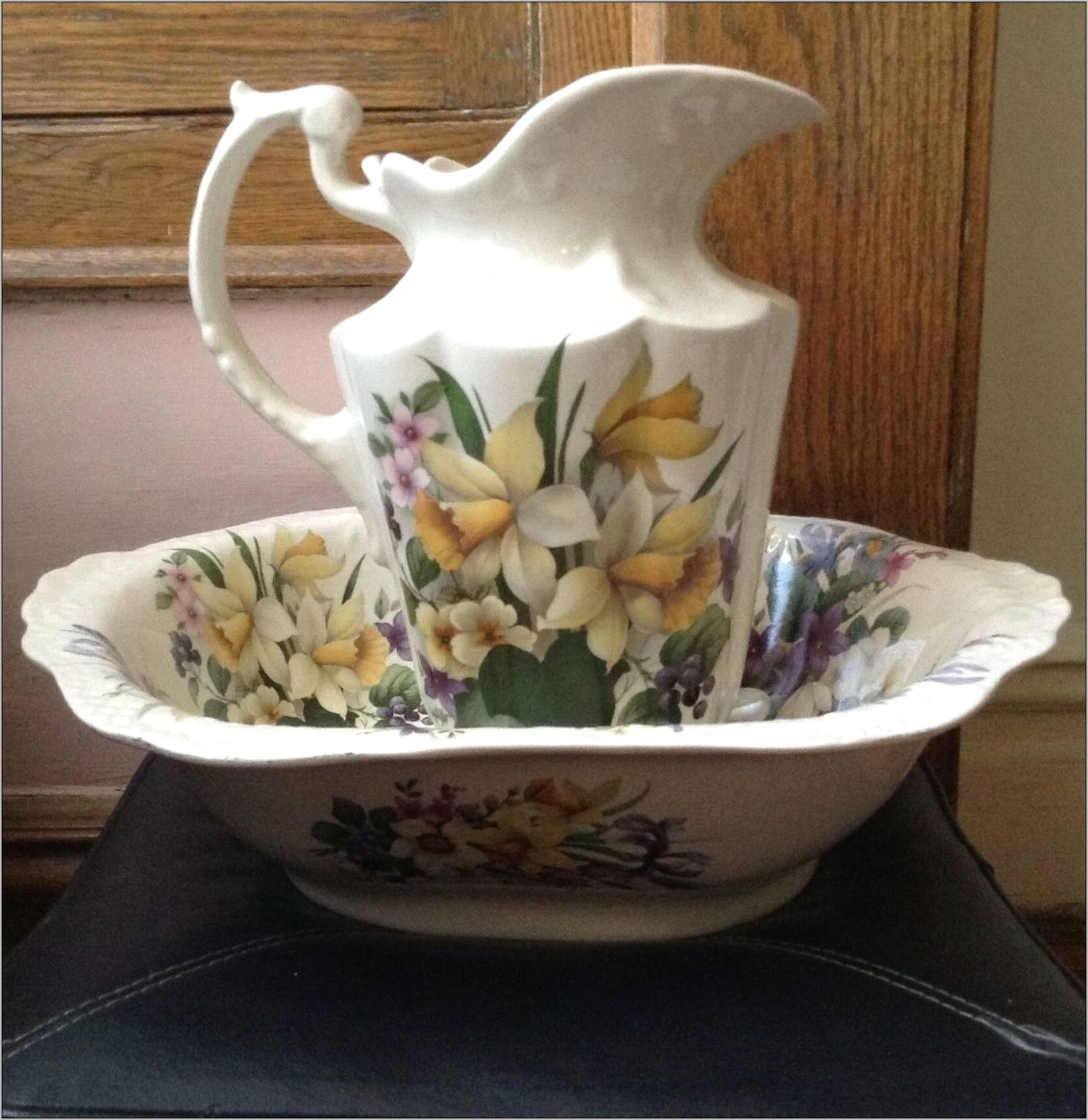 Ceramic Kitchen Sink Decorative Pitcher
