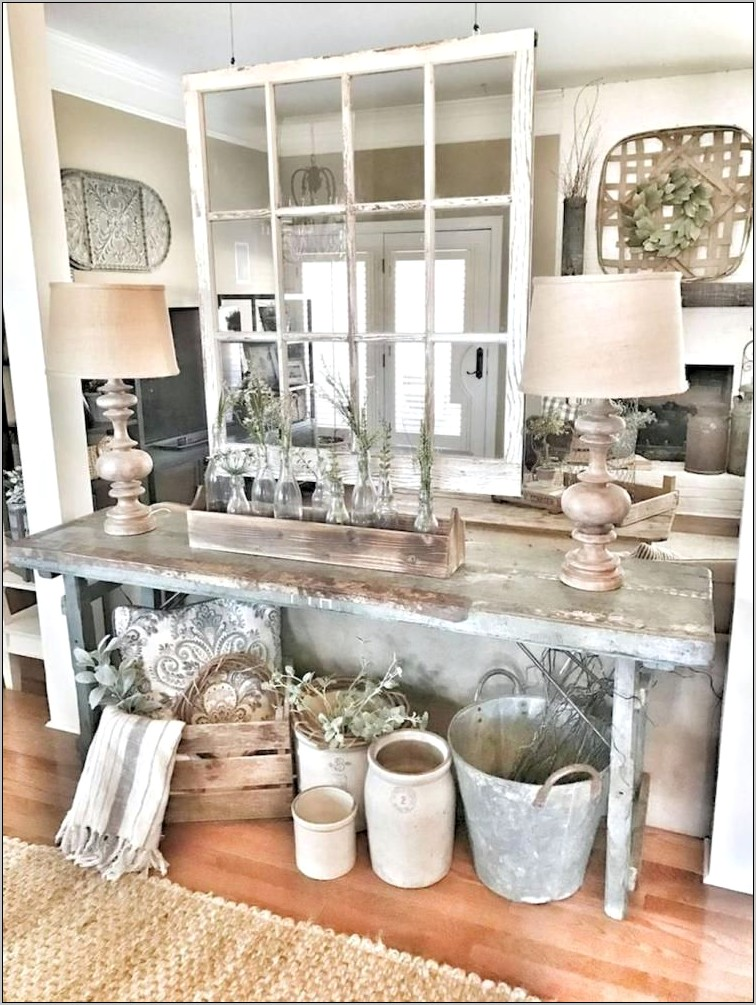 Cheap Rustic Farmhouse Kitchen Decor