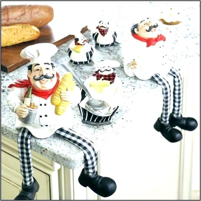 Chef Figurines Kitchen Decor Uk