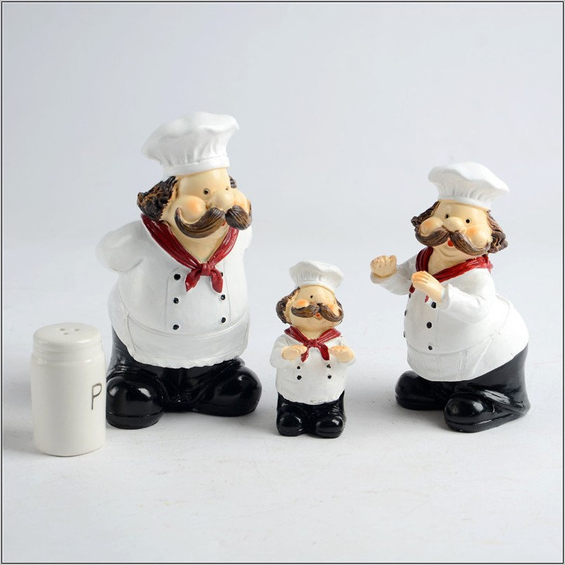 Chef Figurines Kitchen Decor