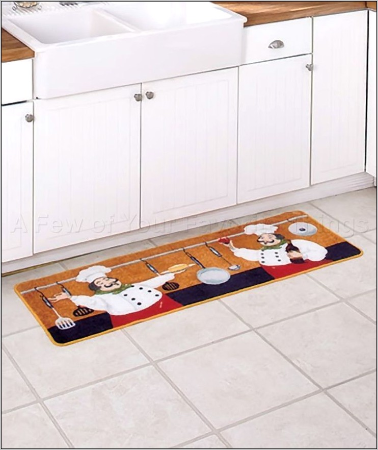 Chef Kitchen Decor Rugs