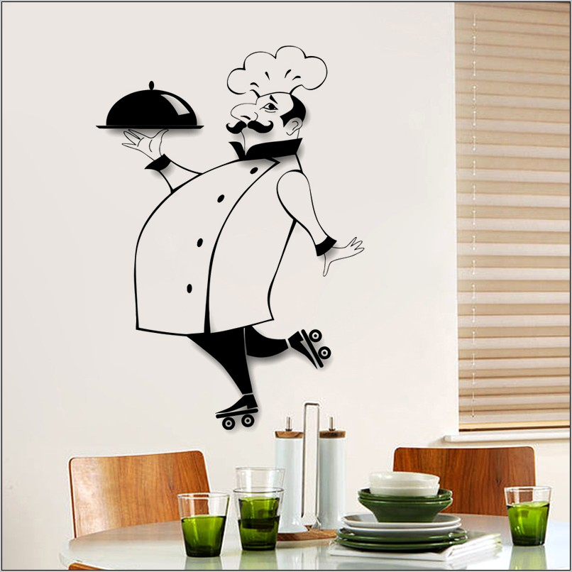 Chef Kitchen Wall Art Decor