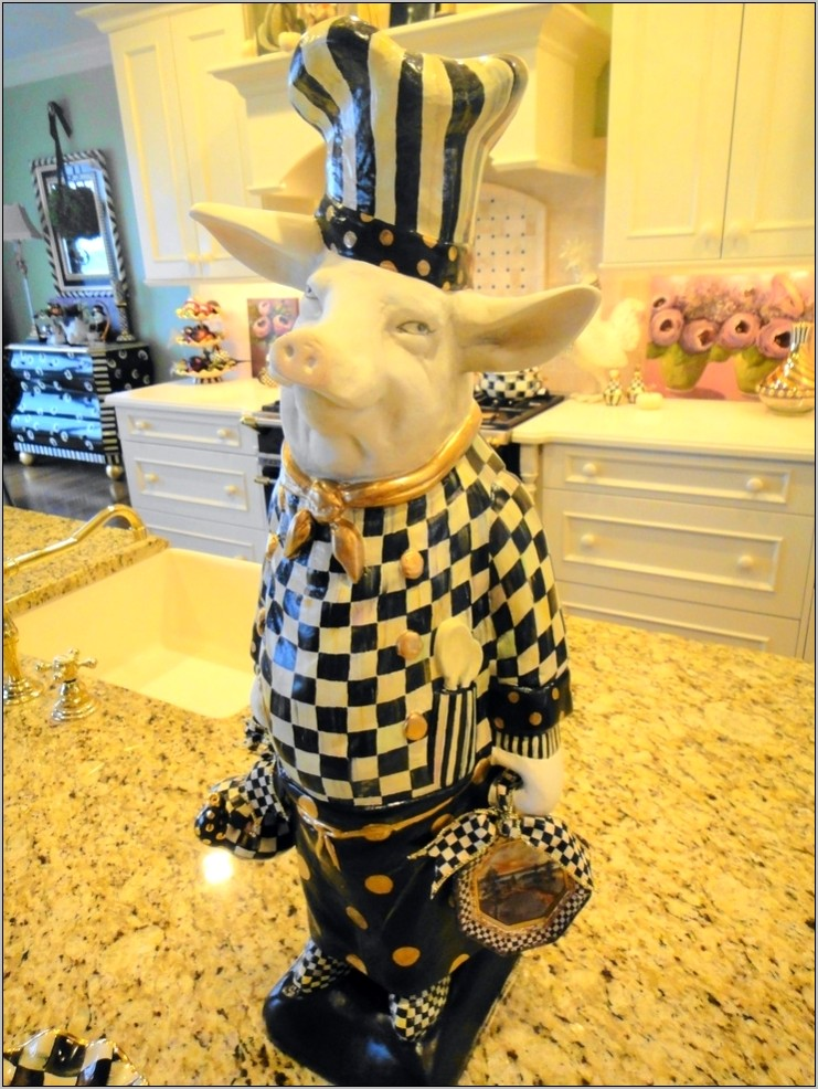 Chef Pig Kitchen Decor