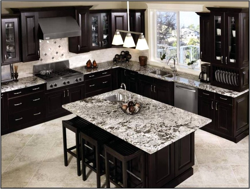 Chocolate Brown Kitchen Cabinets Decor