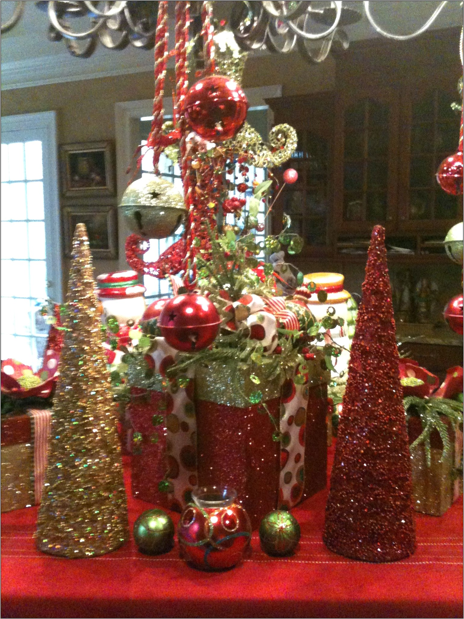 Christmas Decor For Kitchen Island