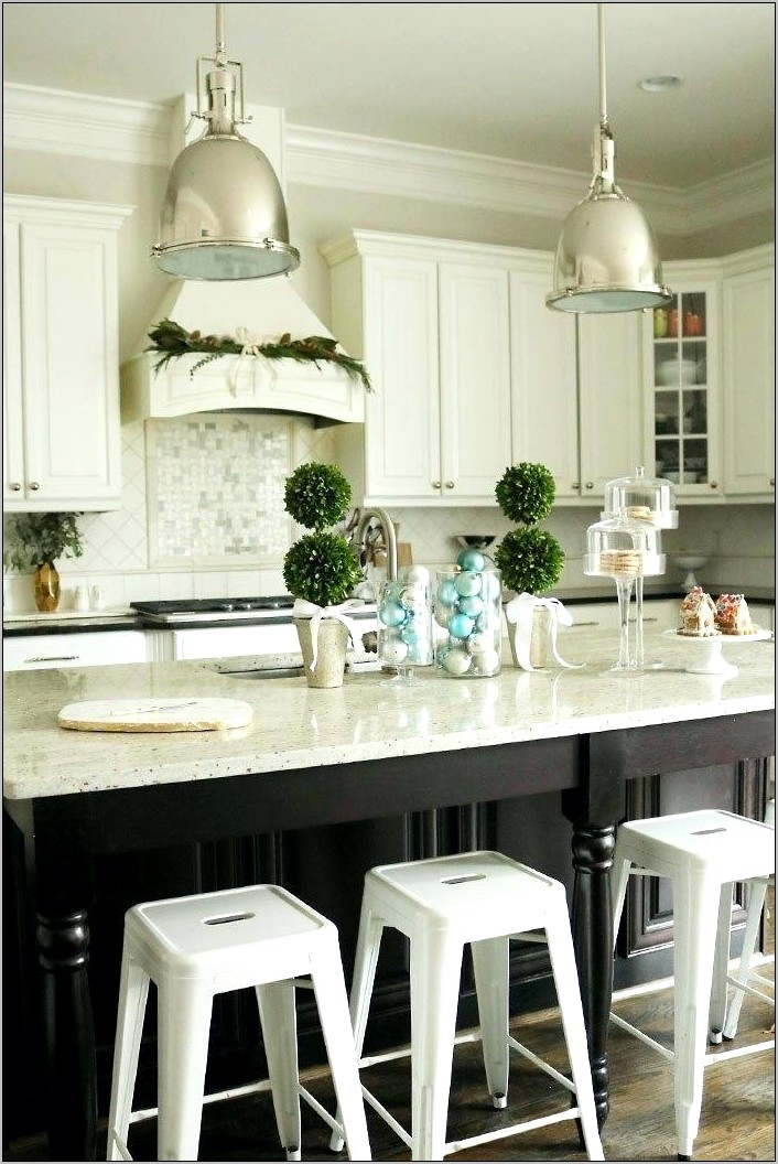 Christmas Decorations For A Kitchen Island