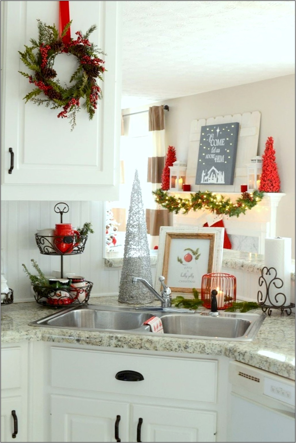 Christmas Kitchen Decorations Pinterest