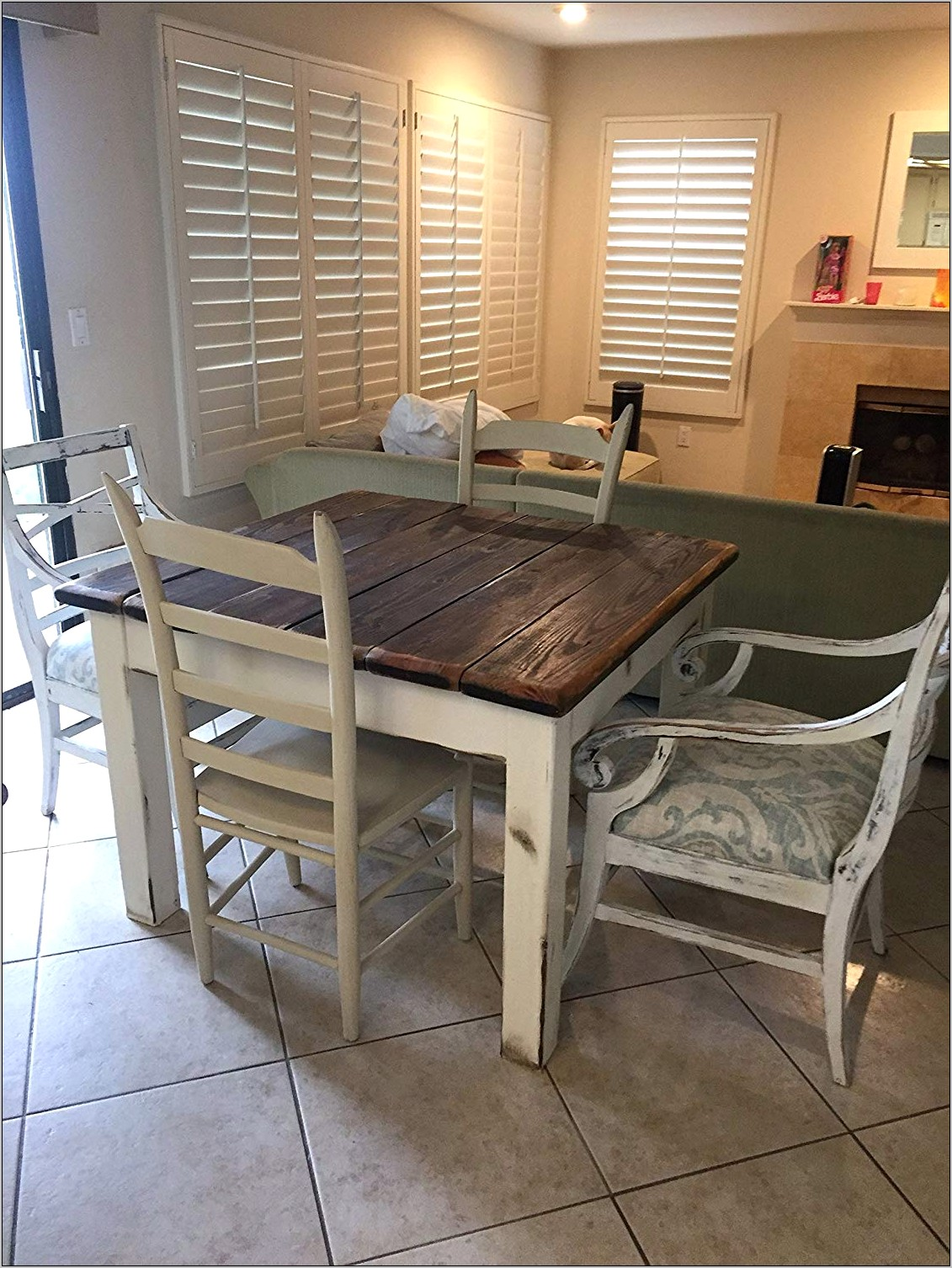 Coastal Decor Kitchen Table