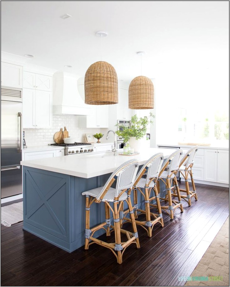 Coastal Kitchen Cabinets Decor