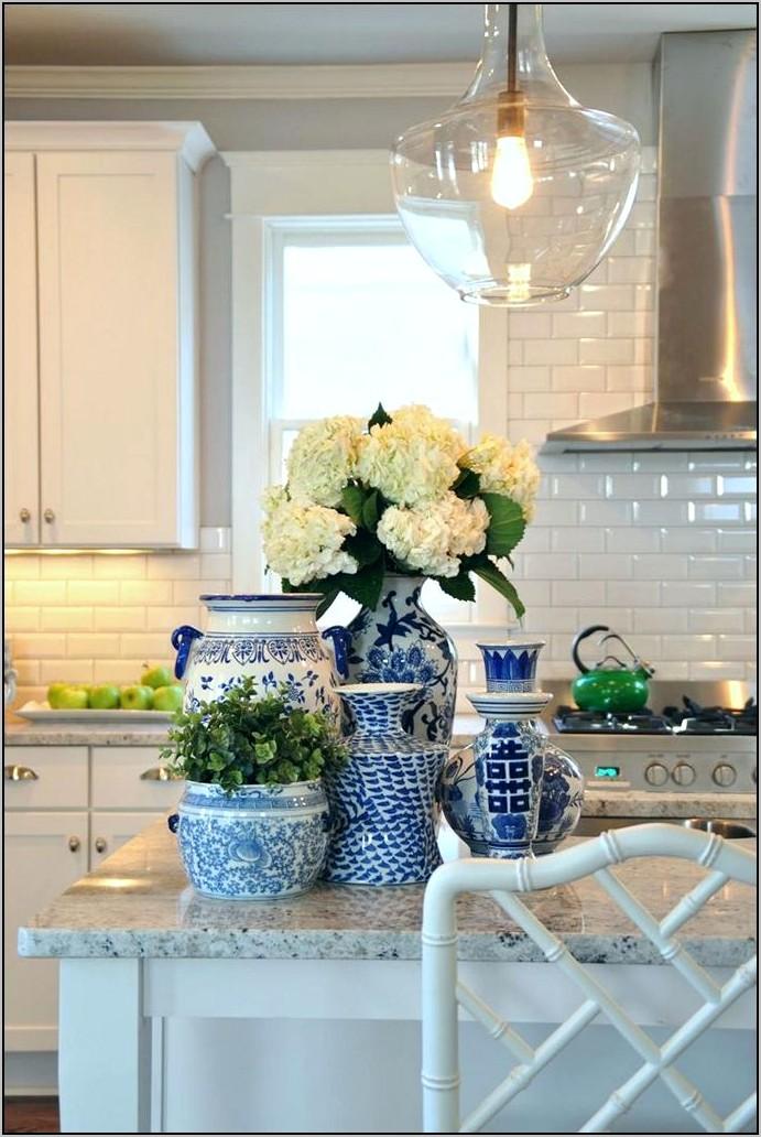 Cobalt Blue Kitchen Decor