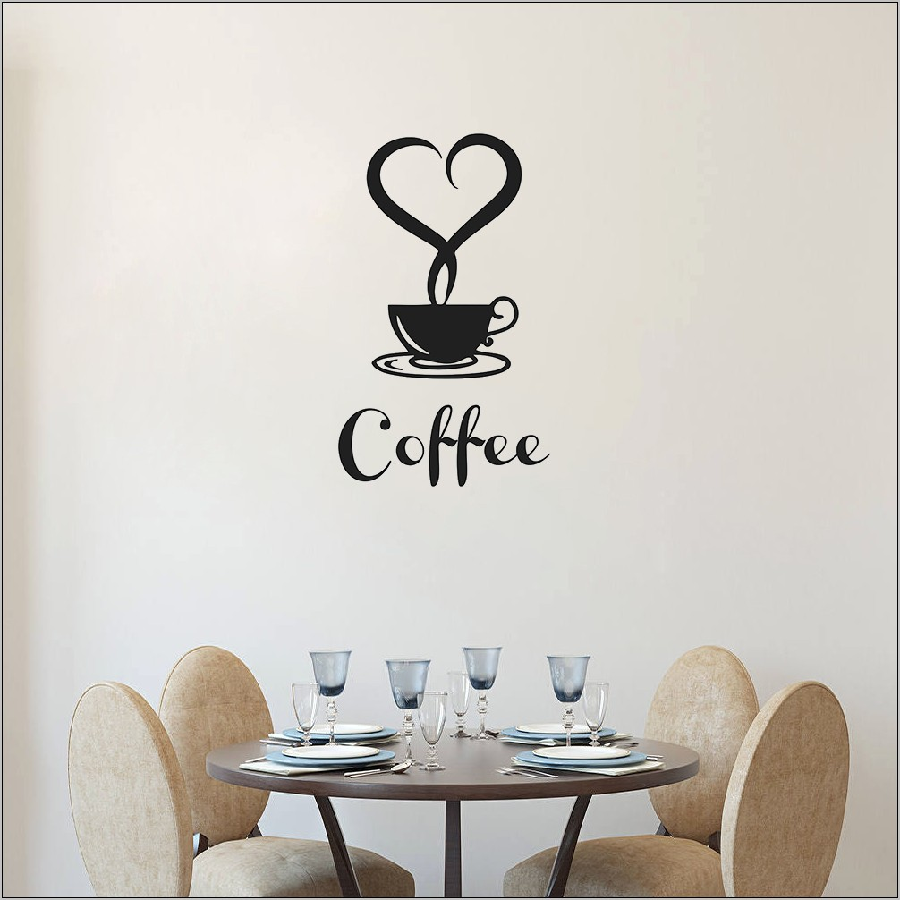 Coffee Cup Kitchen Decor