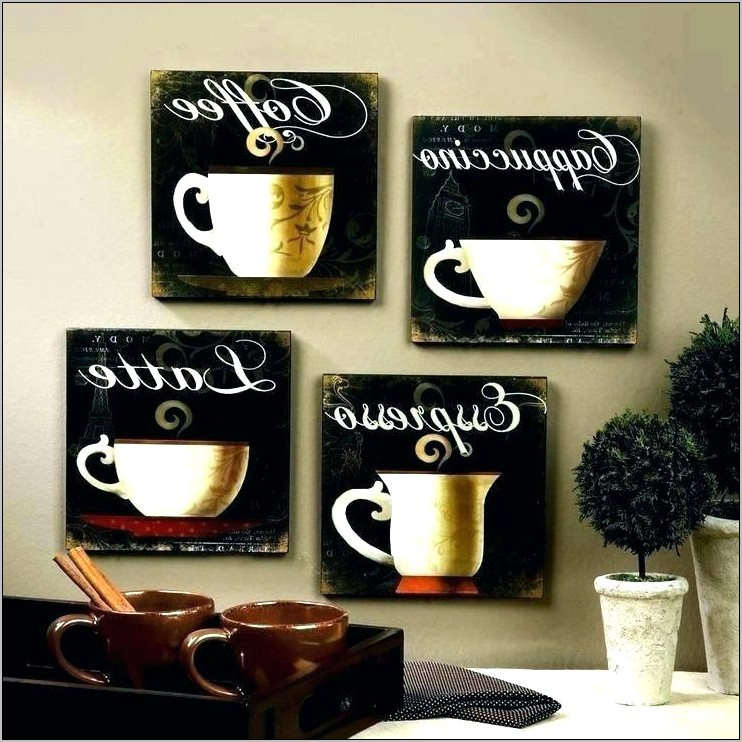 Coffee Espresso Themed Kitchen Decor