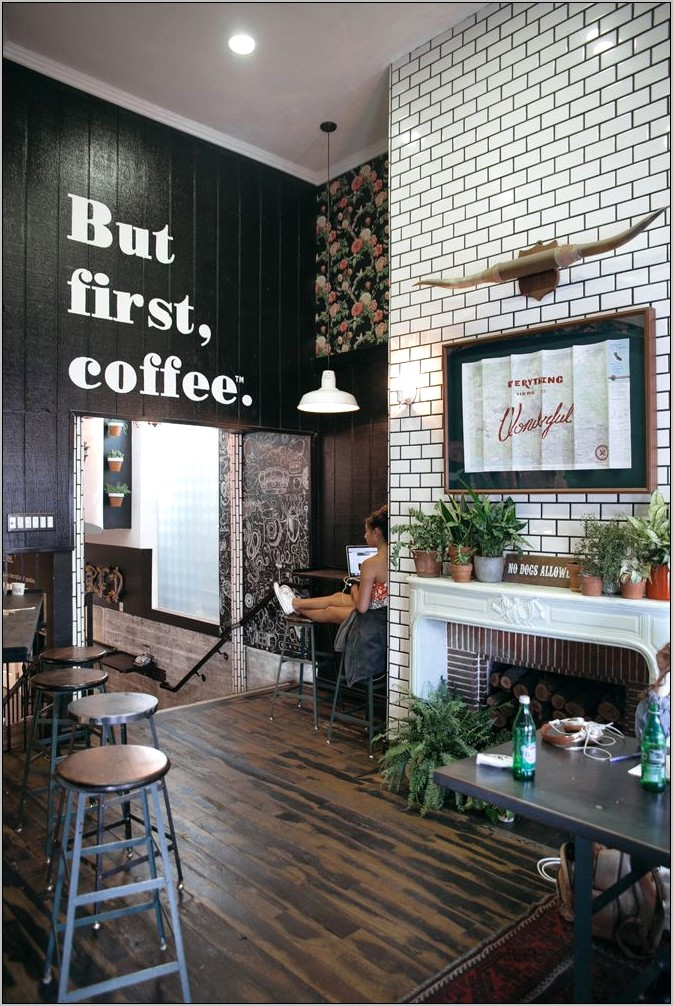 Coffee Shop Kitchen Decor