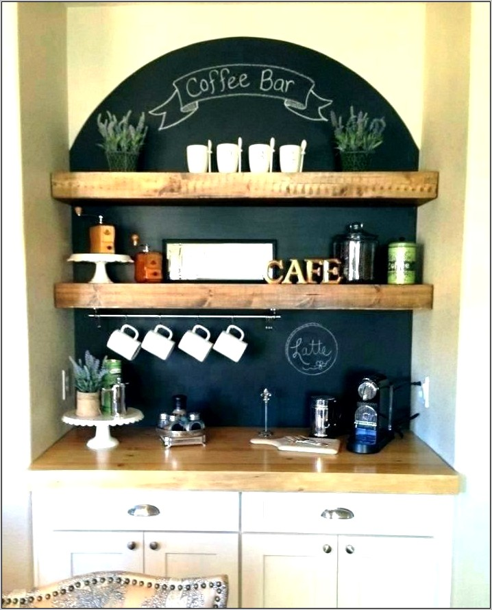 Coffee Wall Decor For Kitchen Idea