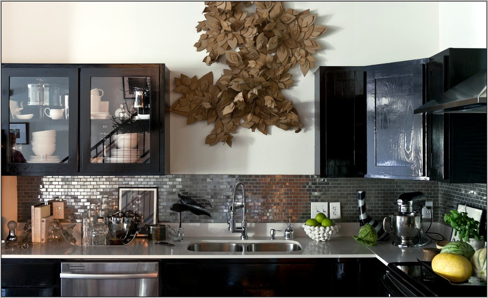 Contemporary Kitchen Decor Metal