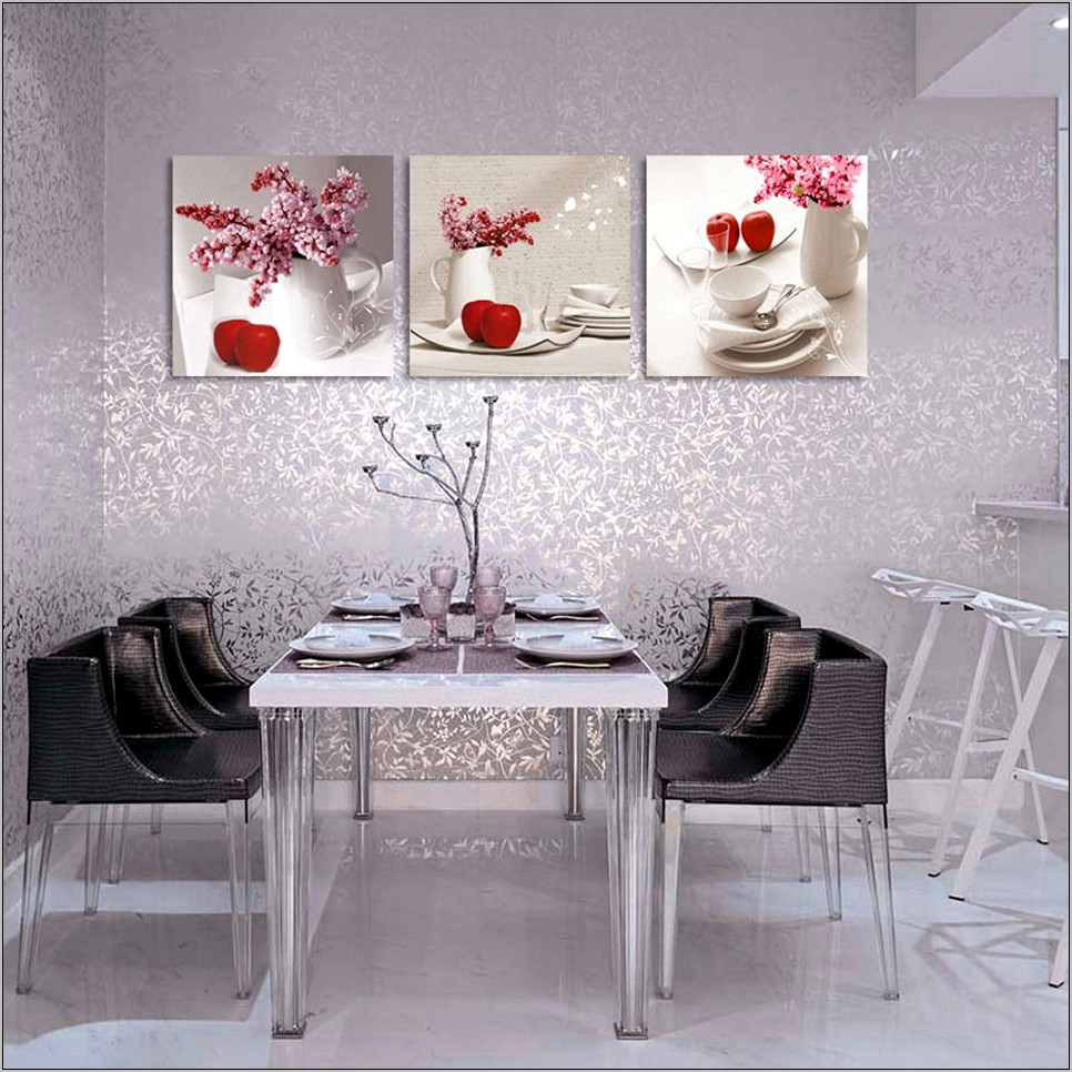 Contemporary Kitchen Wall Decor Ideas