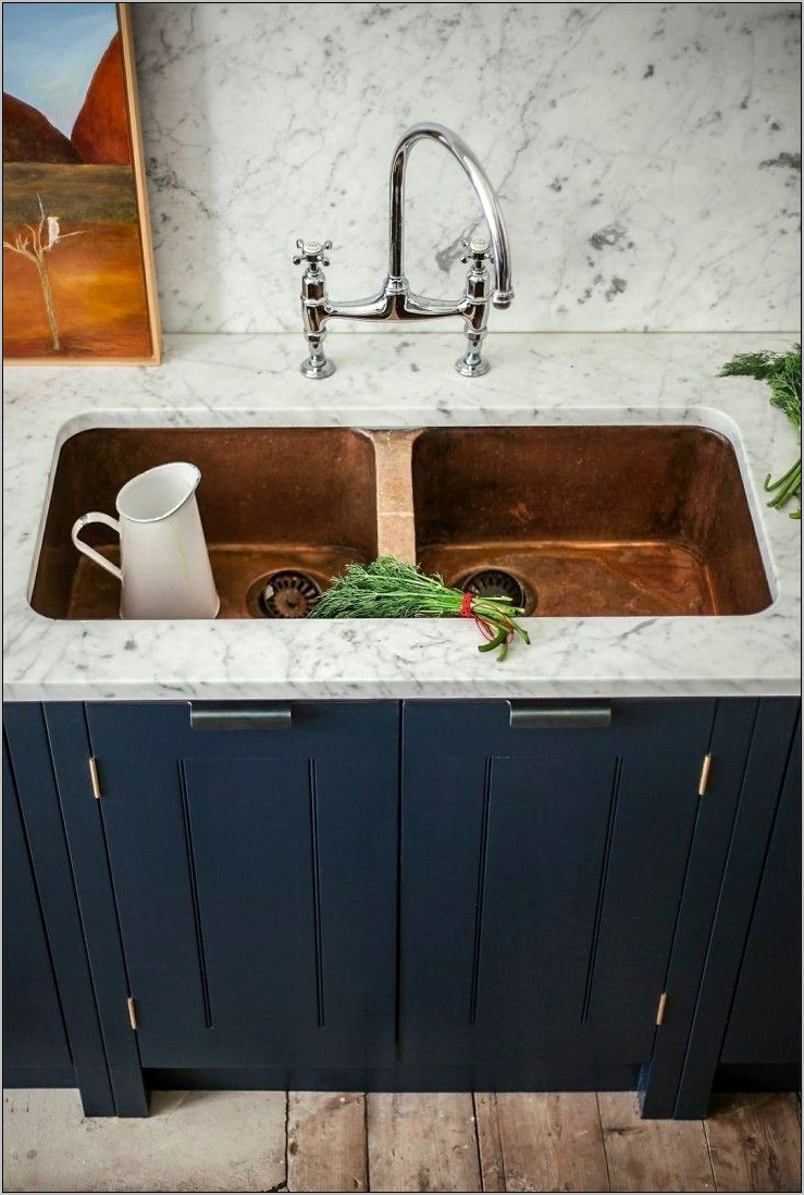 Copper And Marble Kitchen Decor