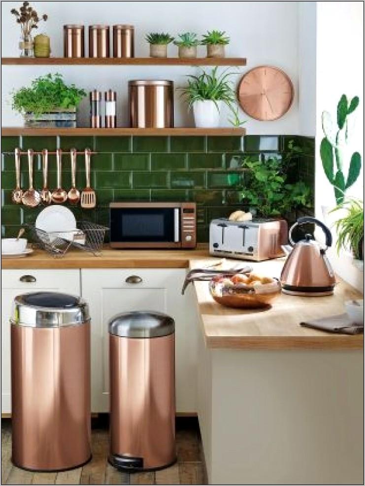 Copper Decorative Kitchen Items