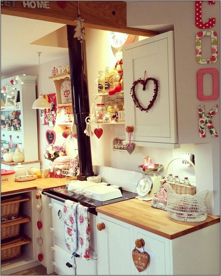 Cottage Chic Shabby Chic Kitchen Decor