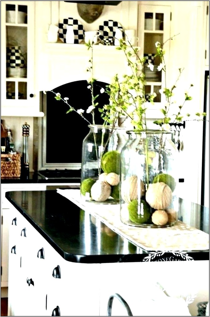 Counter Tops Decorating Kitchen Counters
