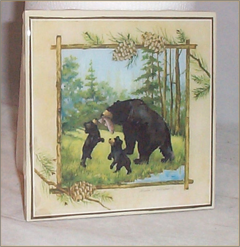 Country Bear Kitchen Decor