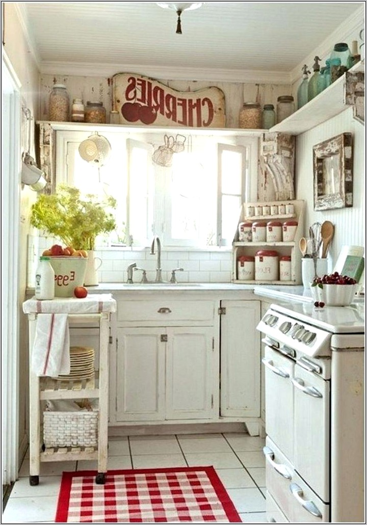Country Chic Decor Kitchen