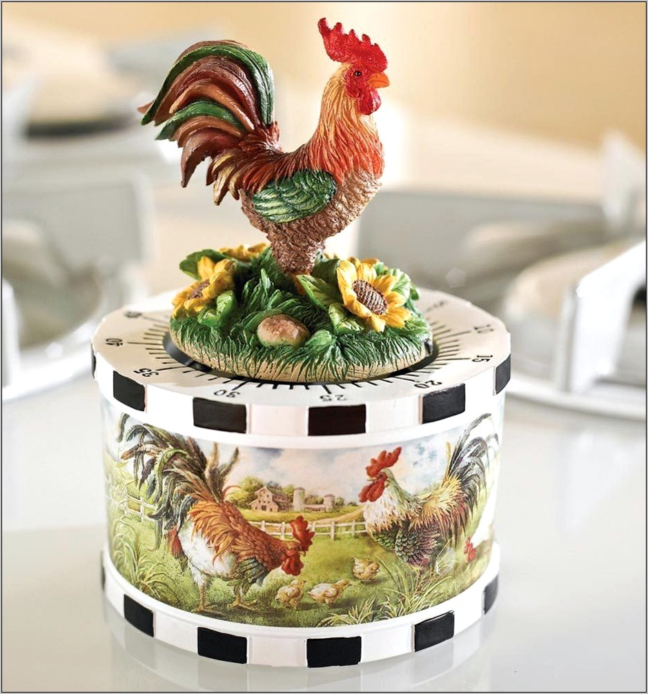 Country Decor Kitchen Timer