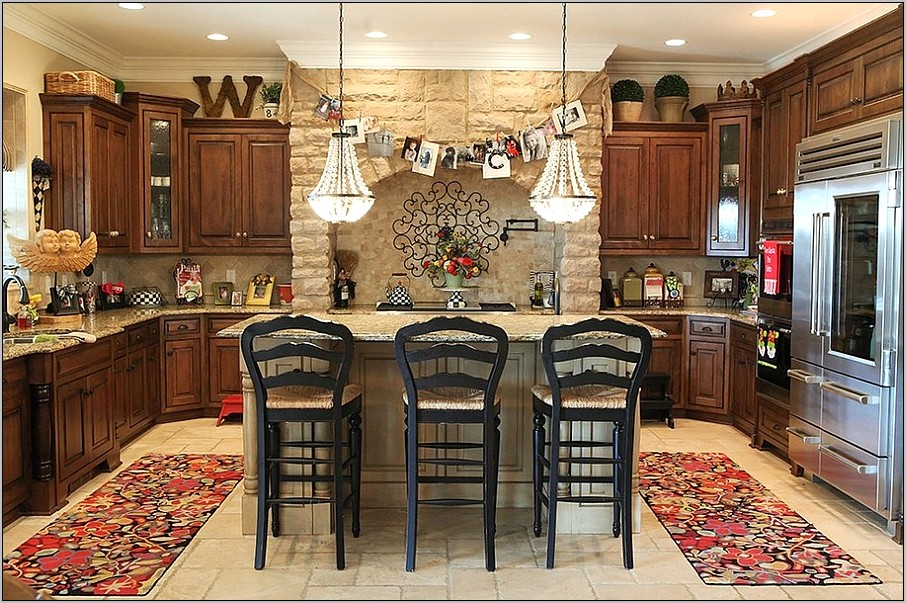 Country Decorating Ideas Kitchens Photos