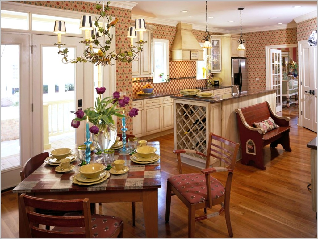 Country French Decorating Ideas For Kitchens