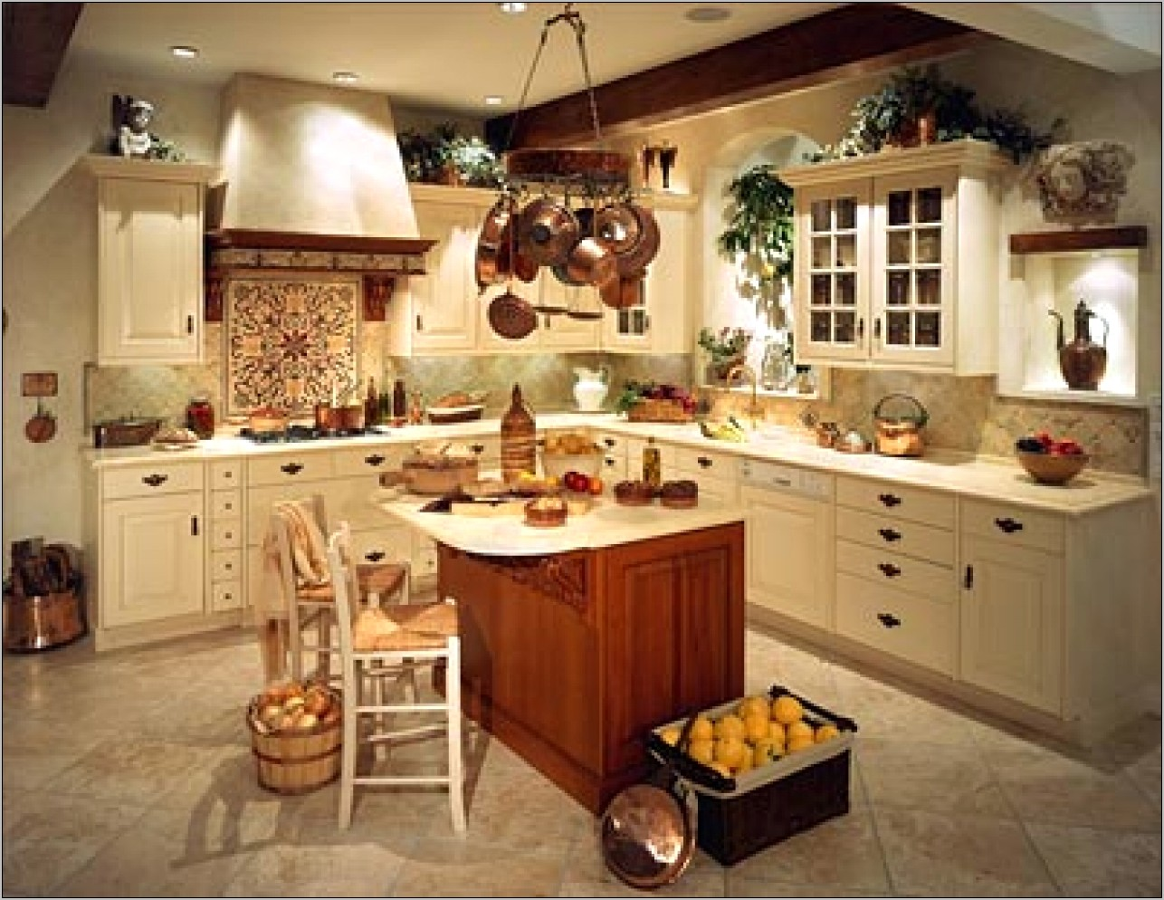 Country Kitchen Christmas Decorating Ideas