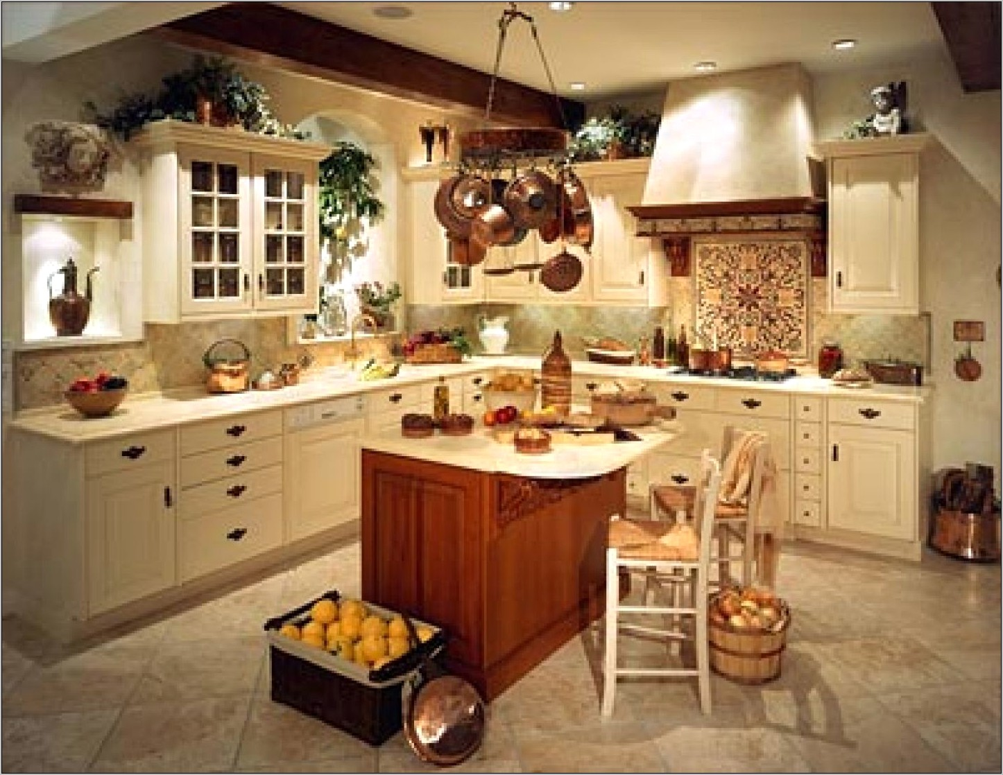 Country Kitchen Decor On Pinterest