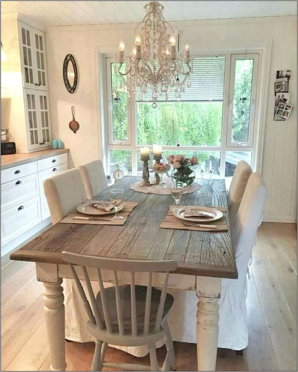 Country Kitchen Table Decor Ideas